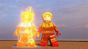 LEGO Marvel's Avengers - Human Torch | Free Roam Gameplay ...