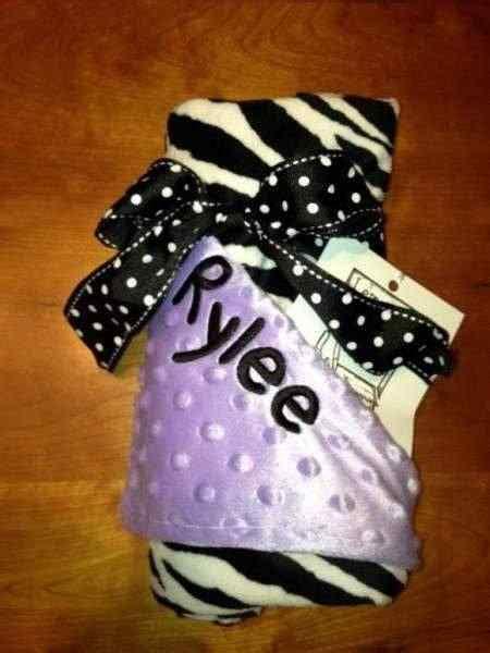 zebra baby blanket lemonade couture
