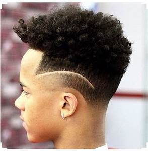 High Top Fade Natural Haircut for Kids Hairstyles & Haircuts for African American