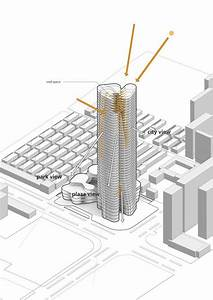 Gallery Of Urban Systems Office U0026 39 S Bundle Tower Reimagines The Bank Of China