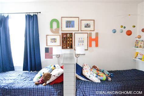 shared boys bedroom shared boys bedroom balancing home with megan bray