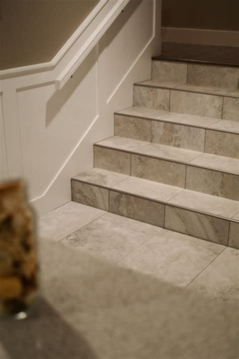 tile  stairs    beautiful durable alternative