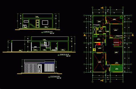 housing   apartment  level dwg elevation