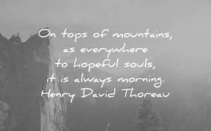300 Good Mornin... Morning Mountain Quotes