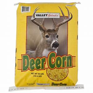 Shop Valley Splendor 40-lbs Deer Corn and Seed Cake at