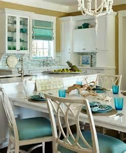 themed kitchen ideas turquoise blue white theme kitchen paradise found completely coastal