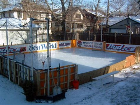 How To Make An Rink In Backyard by Backyard Hockey Rink Design Design Ideas