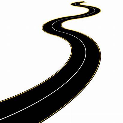 Road Clipart Winding Curvy Cartoon Clipground