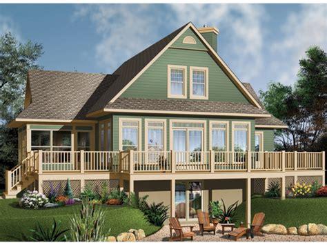 lake house plans basement lake house plans rear view small lake house plans