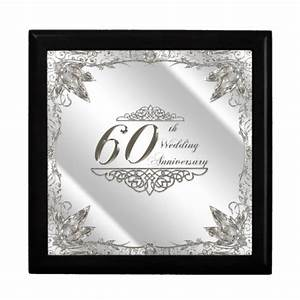 60th wedding anniversary gift box zazzle With 60 wedding anniversary gift