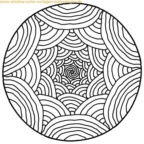 Mandalas To Print And Color  Malvorlage Ausmalbild