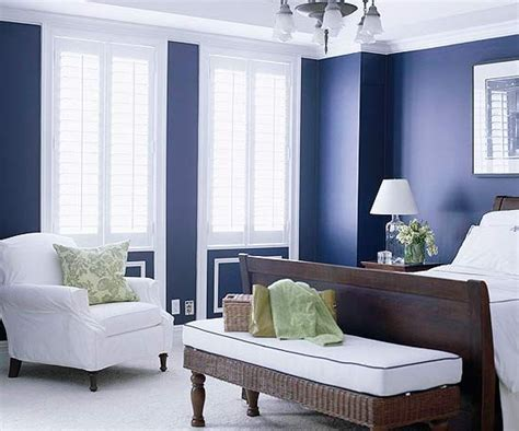Ideas Navy Blue Walls by 20 Marvelous Navy Blue Bedroom Ideas