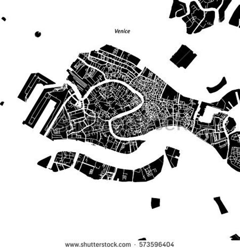 venice map stock images royalty  images vectors