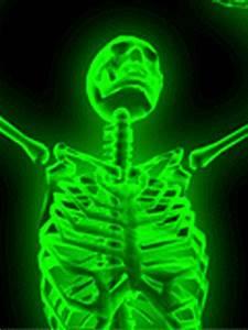 neon dancing skeleton screensaver slide show
