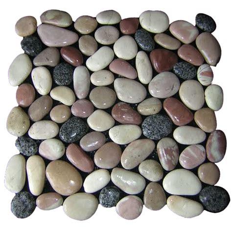 pebble series interlocking squares design tiles