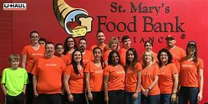 U-Haul Team Members Pack Food for the Hungry at St. Marys ...