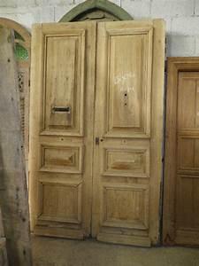portes d39entree anciennes pleines 2 vantaux vente de With porte d entrée 2 vantaux