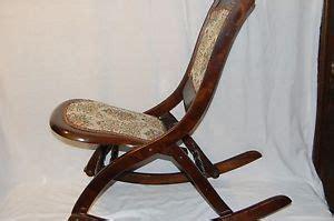ebay rocking chair nursing vintage folding rocking chair wood sewing nursing rocker