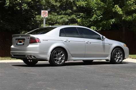 sold 2007 acura tl type s auto asm silver michigan
