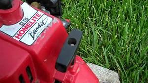 Homelite Bandit Sx-135 25cc 2-stroke Engine