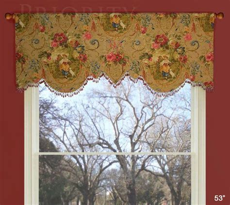 Scalloped Julia Valance   PWV Custom Valances   Pinterest