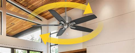 ceiling fan counterclockwise rotation when to change blade rotation ceilingfan