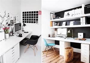 Bureau Plan De Travail : am nager un bureau dans le salon joli tipi ~ Preciouscoupons.com Idées de Décoration