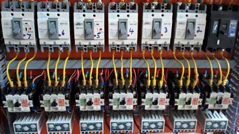 Electrical Panel Board Phase Changeover Star Delta Bus