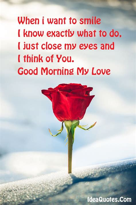 good morning love quotes  romanticize  day