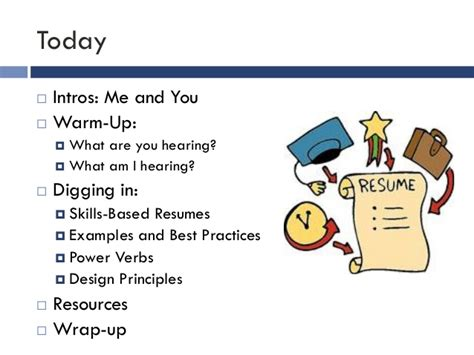 best practices for resume writing