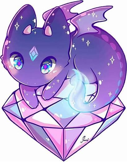 Kawaii Dragon Anime Toothless Drawings Purple Chimuelo