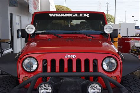 jeep wrangler jk style windshield decal   jeep