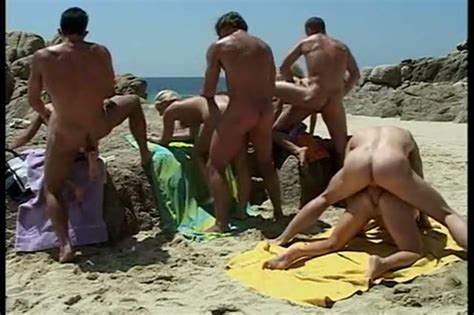 Hardcore Orgy On The Nudist Beach Nudism Porn At ThisVid