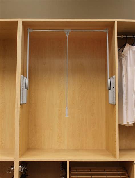 Heavy Duty Wardrobe Closet by Wood Tech Side Mount Heavy Duty Wardrobe Lift 32 11 16