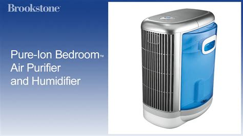 pure ion bedroom air purifier  humidifier youtube