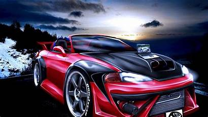 Cars Tuning 3d Wallpapers Eclipse Mitsubishi 1920