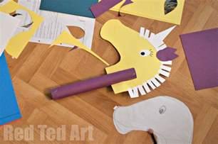 unicorn ideas crafts ted 39 s