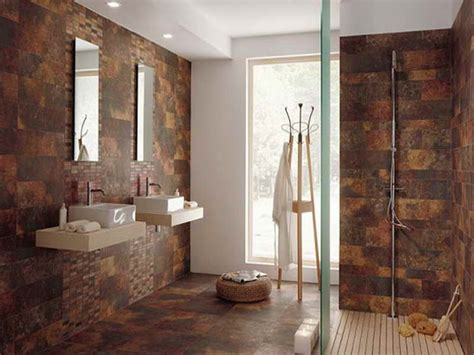 Badezimmer Fliesen Ideen Braun by Brown Bathroom Floor Tiles Decor Ideasdecor Ideas