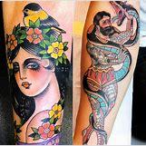 Colorful Peacock Tattoo Drawing | 728 x 720 jpeg 105kB