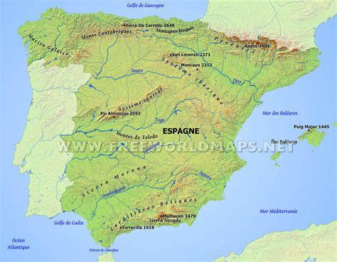 Carte Des Fleuves Du Monde Exercice by Fleuves D Espagne