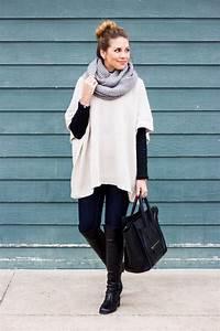 Outfits para invierno con ponchos - Curso de Organizacion del hogar y Decoracion de Interiores