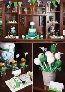 Golf Theme Party Decoration Ideas
