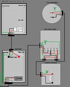Inground Pool Wiring Diagram
