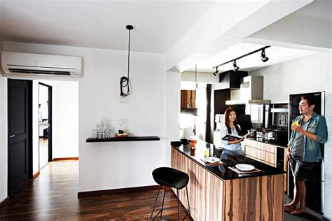Kitchen With An Island - no space for a dining table 16 bar top ideas here home decor singapore