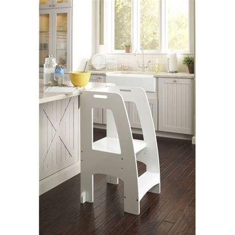 white up kitchen helper childrens guidecraft stools