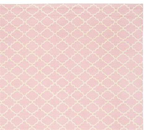 light pink trellis rug addison rug light pink pottery barn kids