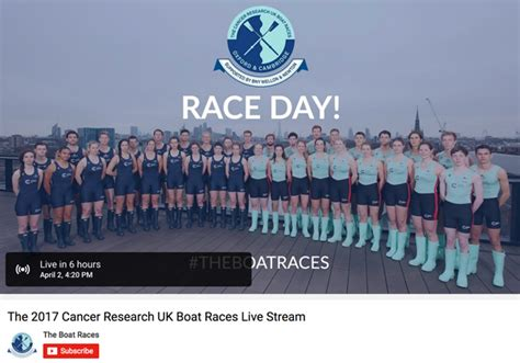 Watch The Boat Race by Boat Race 2017 Live Stream How To Watch The Boat Race