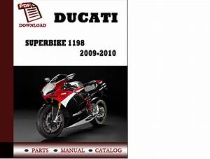 Ducati Superbike 1198 Parts Manual  Catalogue  2009 2010 Pdf Download   English German Italian
