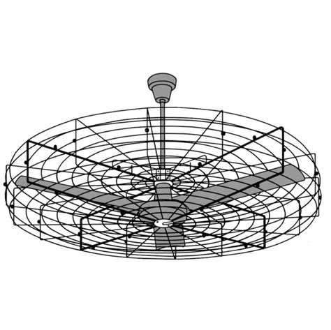 Cage Enclosed Ceiling Fans Design Fan With Light
