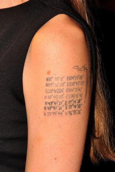 angelina jolie lettering tattoo art tattoos tattoos